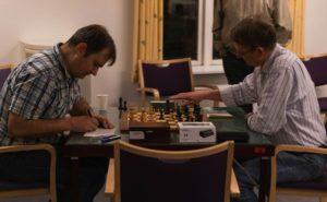 Det afgørende parti om KM 2020: Larsen vs. Thomsen (Foto: Alexander Oliver)